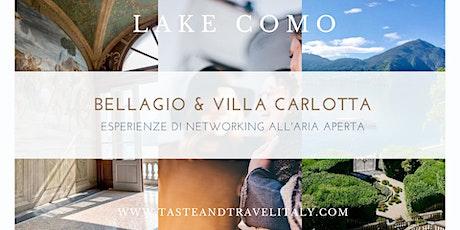 Business Networking in Villa Carlotta (LAGO DI COMO) biglietti