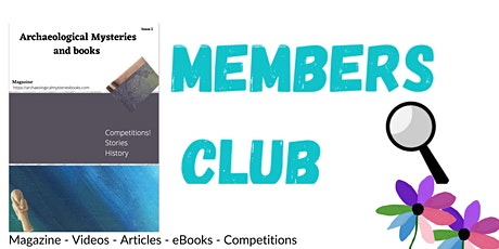 Archaeological Mysteries Books - Members Club Launch tickets