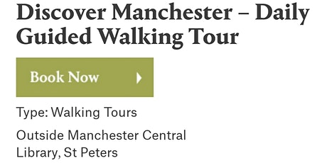 Discover MANCHESTER Walking Tour tickets