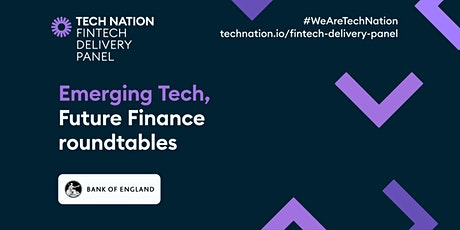Big Tech and the Future of Finance tickets