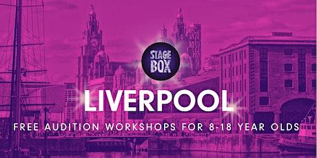 Free Stagebox Audition Workshop | LIVERPOOL tickets