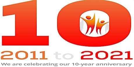 10th Year Anniversary - Presentation 2 tickets