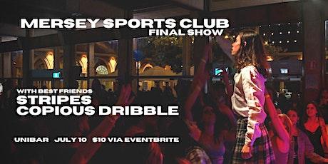 Mersey Sports Club Final Show tickets