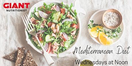VIRTUAL June: Mediterranean Diet biglietti