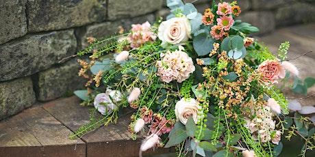 Summer Flower Hand Tied Bouquet Workshop tickets