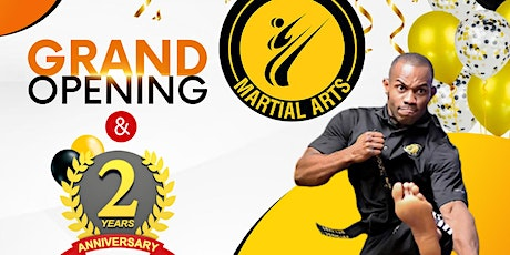 Buggs Martial Arts - Grand Opening 2 Year Anniversary tickets