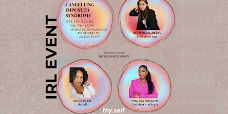 Cancelling Imposter Syndrome tickets
