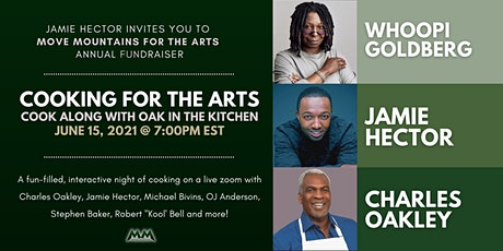 Moving Mountains for the Arts/Cooking with Oak & Jamie bilhetes