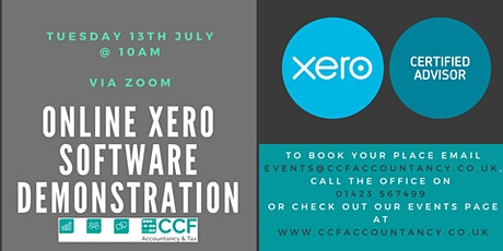 Xero Software Demonstration tickets
