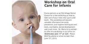 Village Dental Centre Workshop on Oral Care for Infants