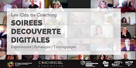 """Soirée découverte digitale # 24  """"Les Clés du Coaching"""" billets"""