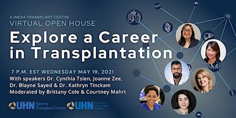 Explore a Career in Transplantation tickets