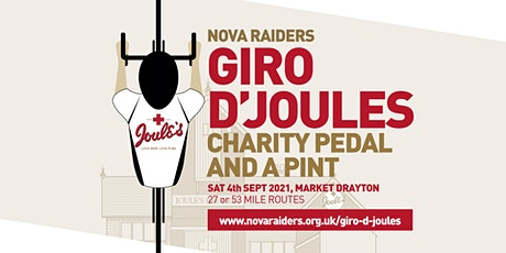 Nova Raiders Giro d'Joules 2021 - Charity pedal and a pint tickets