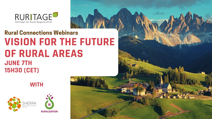 Rural Connections Webinar #2 - Vision for the Future of Rural Areas image