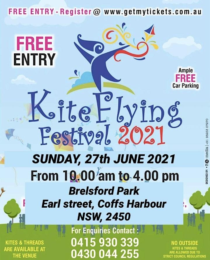 Kite Flying Festival Coffs Harbour on Sunday 27 June 2021 image