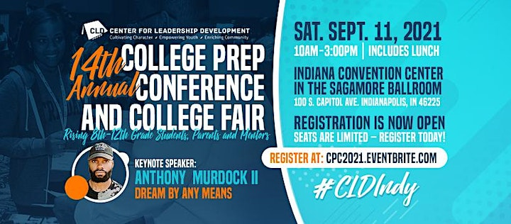 14th CLD College Prep Conference & College Fair (#CLDIndy) image