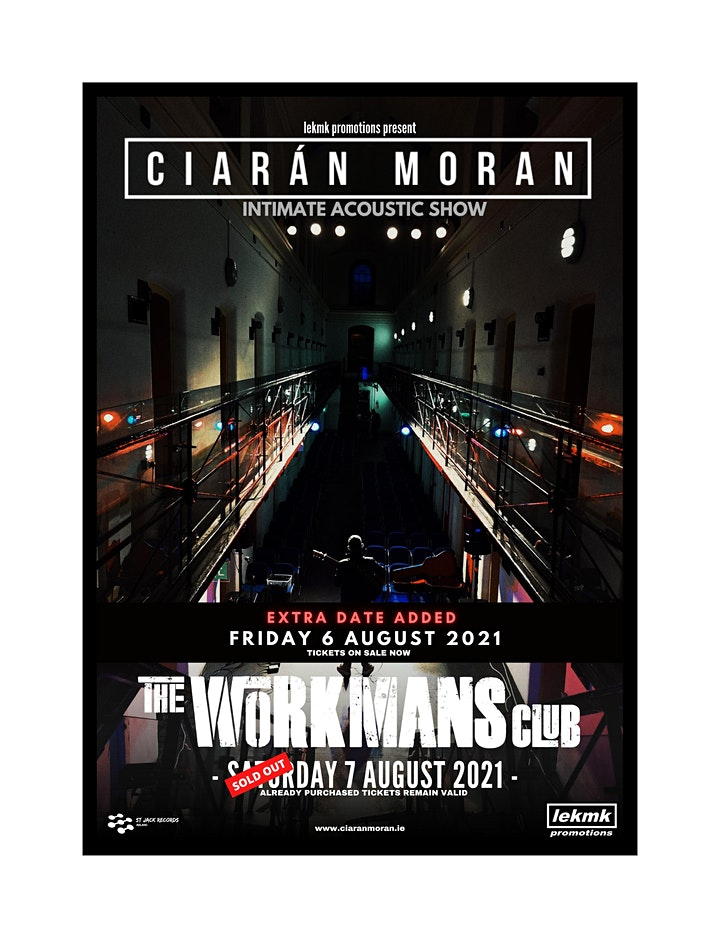 Ciarán Moran - The Workman's Club (Acoustic Intimate Show) image