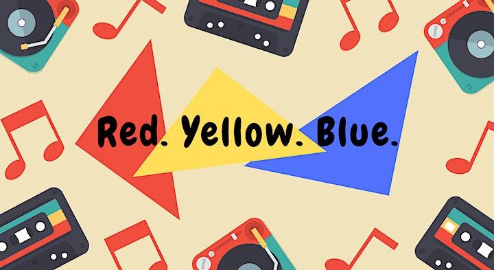 Red. Yellow. Blue Preschool Music Programme image