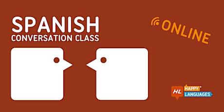 Spanish Online Conversation Class tickets