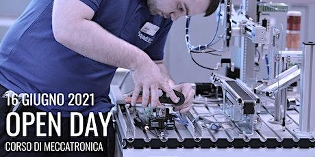 Open Day 2021: Orientamento e Presentazione del corso di Meccatronica biglietti