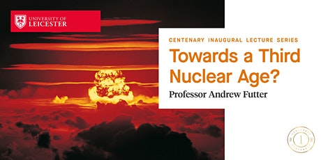 Professor Andrew Futter Inaugural Lecture tickets