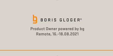 Remote Product Owner powered by bg Tickets