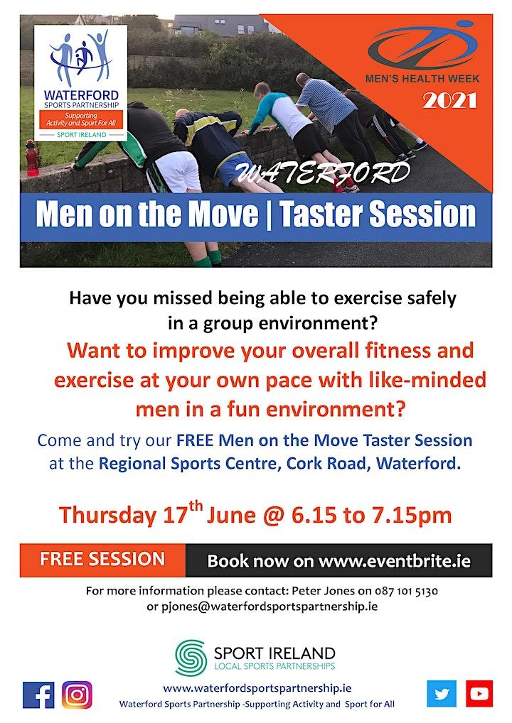 Men's Health Week - MOM Waterford Taster Session 170621 image