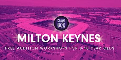 Free Stagebox Audition Workshop | MILTON KEYNES tickets