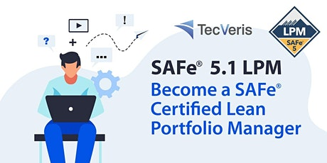 SAFe Lean Portfolio Management 5.1, Live Online Certification Course tickets