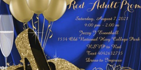 """Red""""s Adult Prom tickets"""