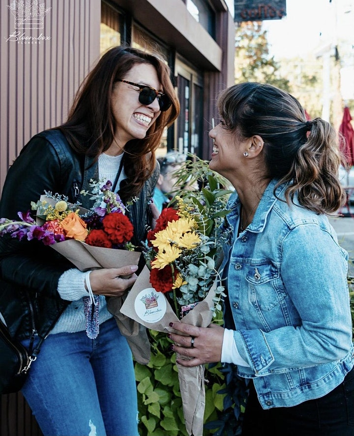 Booze and Blooms - Red Rock Tavern x Bloombox Flowers image