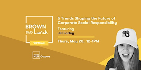 5 Trends Shaping the Future of Corporate Social Responsibility tickets