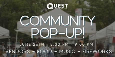 Quest Community Pop-up! tickets