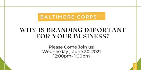 Why is Branding Important for your Business? tickets