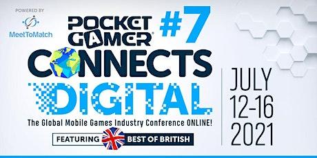 Pocket Gamer Connects Digital #7 tickets
