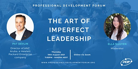 The Art of Imperfect Leadership tickets
