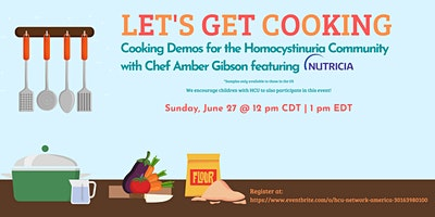 Let's Get Cooking, with Chef Amber Gibson – featuring Nutricia Products