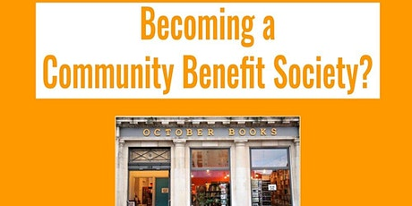 Community Benefit Society - first meeting tickets