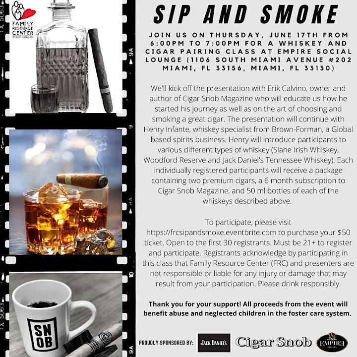 Sip And Smoke image