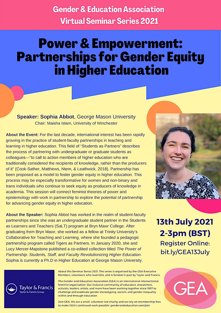 Power & Empowerment: Partnerships for Gender Equity in Higher Education image