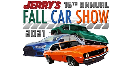 Jerry's 16th Annual Fall Car Show tickets
