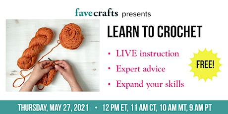Learn to Crochet tickets