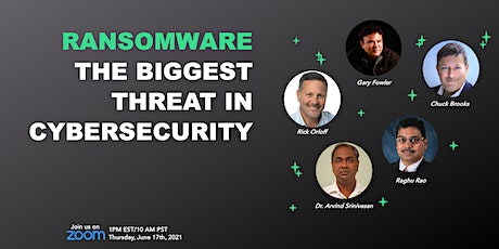 Ransomware: The Biggest Threat in Cybersecurity tickets