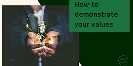 How to demonstrate your values tickets