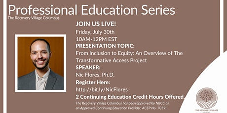 Professional Education Series: From Inclusion to Equity tickets