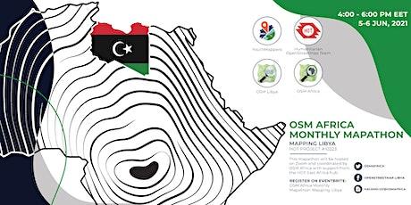 OSM Africa Monthly Mapathon: Map Libya tickets