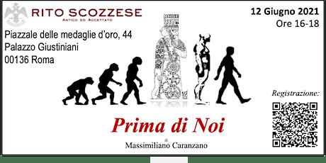 ROMA  Seminario- PRIMA di NOI biglietti