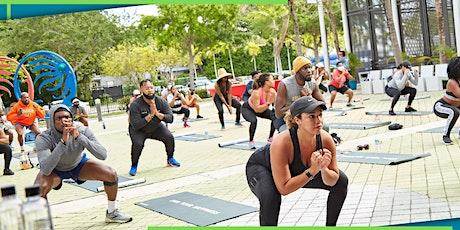Saturday Sweat ! Run Group, Hip Hop HIIT Bootcamp, YOGA & Wellness Vendors tickets