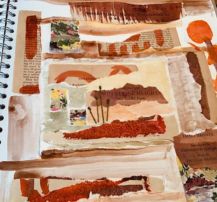 Introducing sketchbook practice for textile art - 1 image