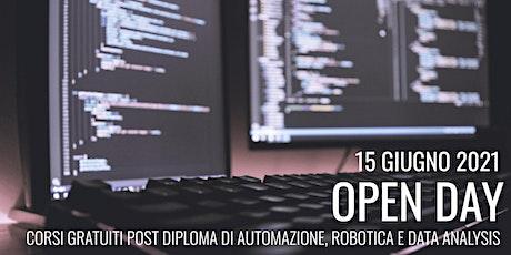 Open Day 2021: Orientamento e Presentazione dei corsi Post Diploma GRATUITI biglietti